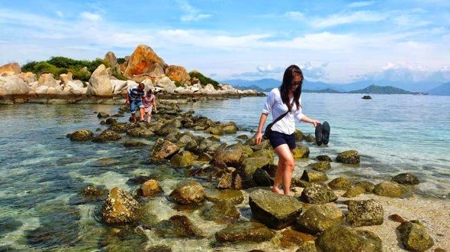 Biển Bình Ba Nha Trang