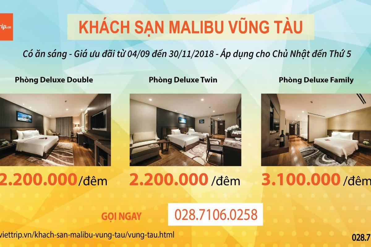 Khách sạn Malibu Vũng Tàu - Khuyến Mãi