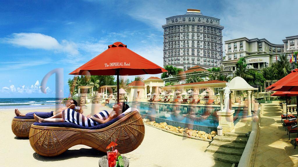 Khách sạn Imperial Vũng Tàu - Bãi biển riêng